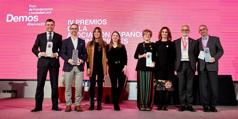 La Asociación Española de Fundaciones premia el programa La Luz de las Niñas