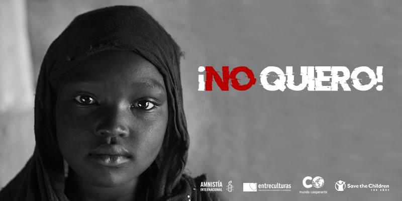 Amnistía Internacional, Entreculturas, Mundo Cooperante y Save the Children advierten de las consecuencias de la Covid-19 sobre los matrimonios infantiles y la mutilación genital femenina