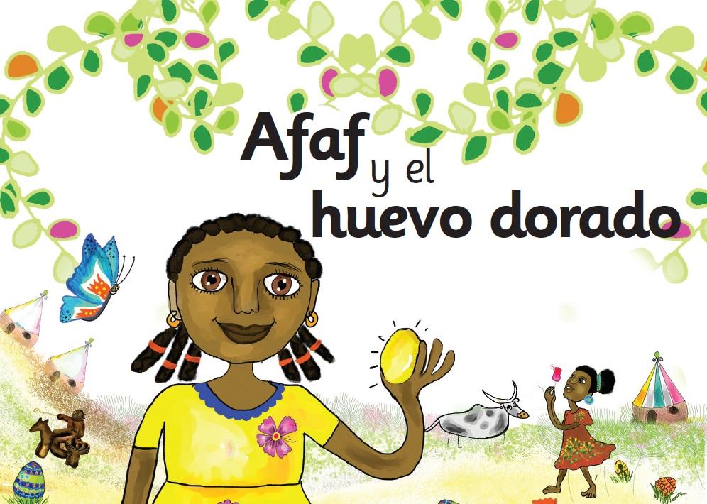 Presentación en Chad del cuento «Afaf y el Huevo Dorado»