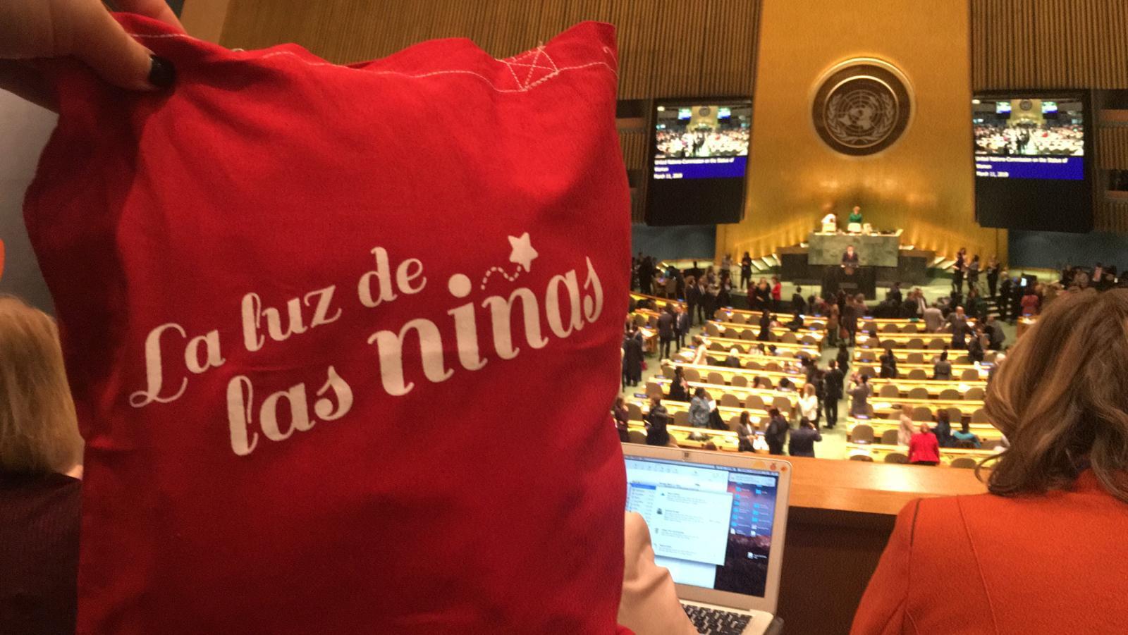 LA LUZ DE LAS NIÑAS AT THE UNITED NATIONS